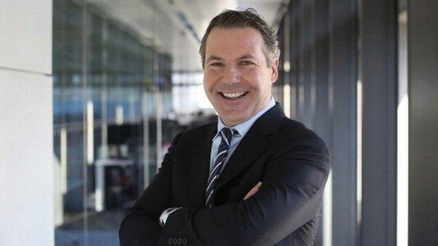 Nick Robertson chief executive of Asos