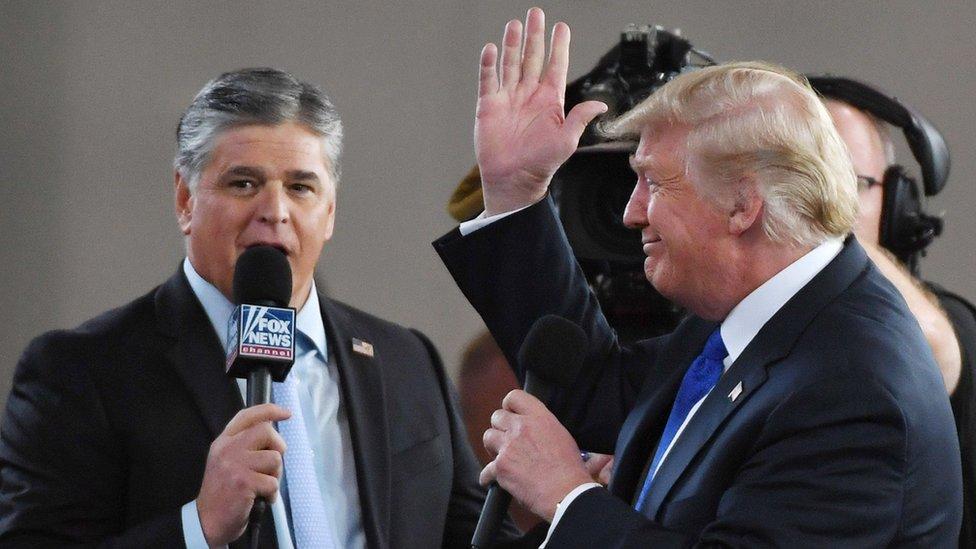 Entrevista de Trump a la cadena Fox.