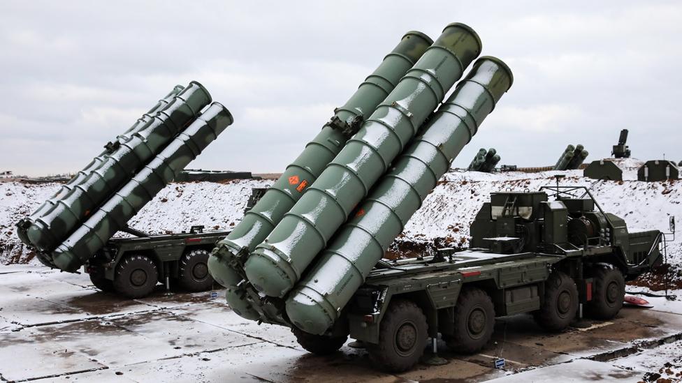 نظام إس 400 الروسي