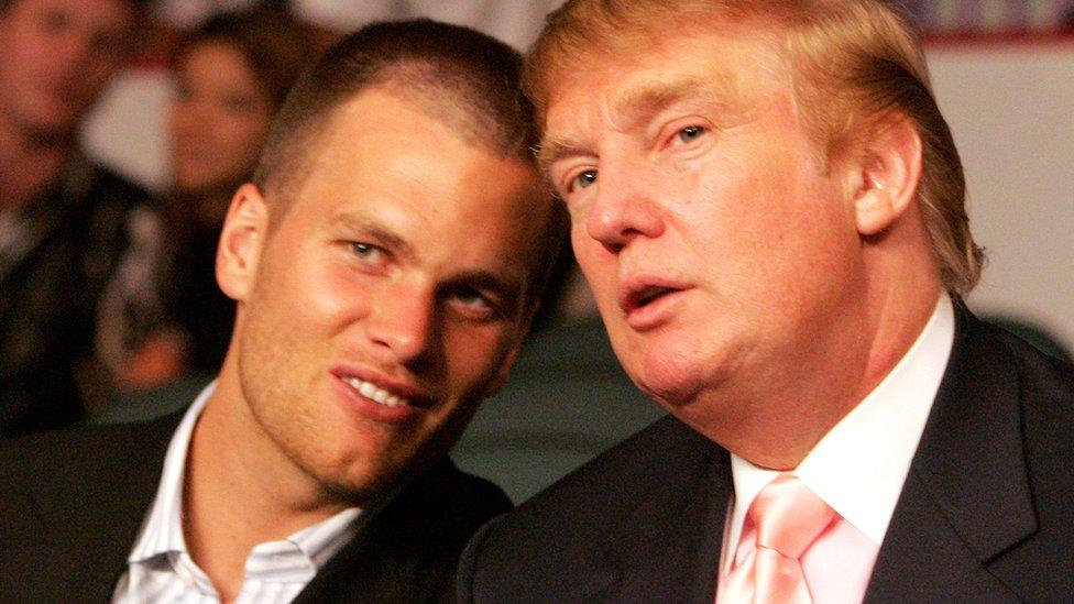 Brady y Trump