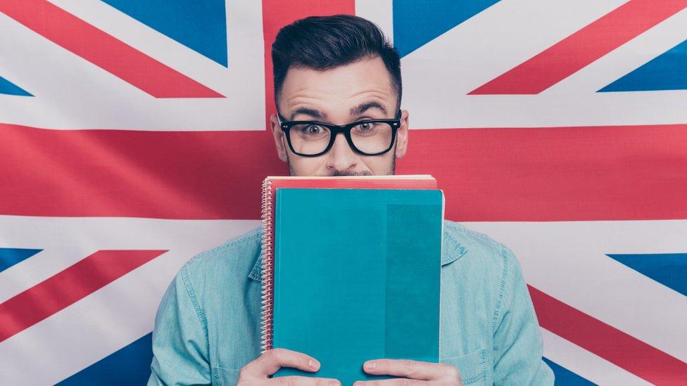 Estudiante de inglés