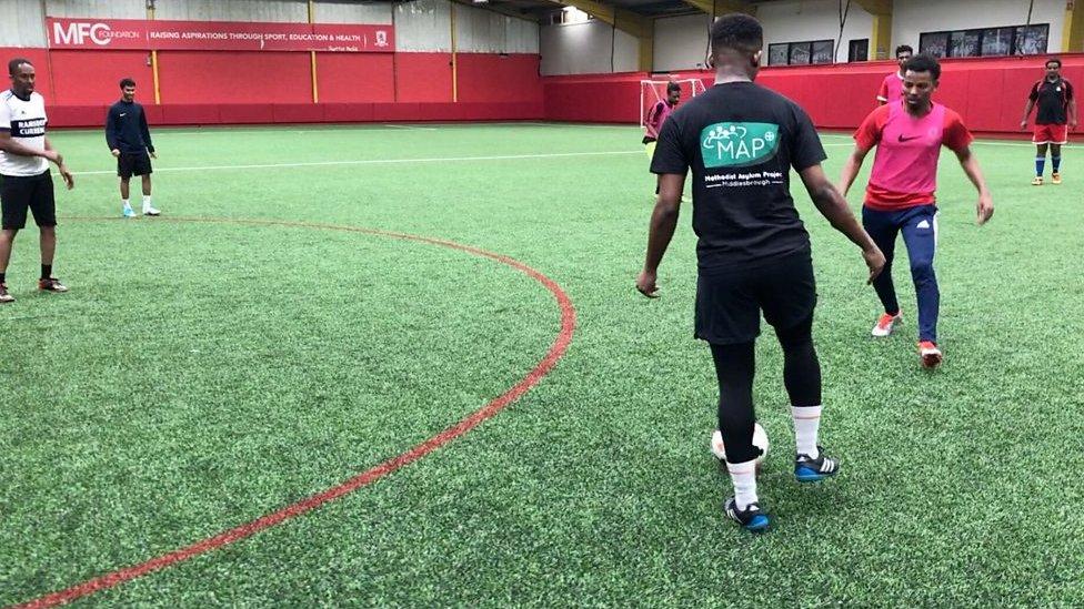 Club Together: The Middlesbrough team bringing refugees together