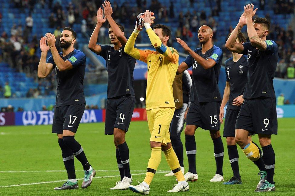 Francia llega a su tercera final en 20 años.