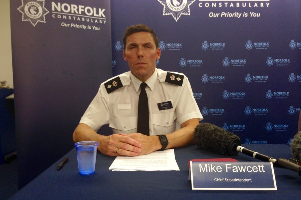 Ch Supt Mike Fawcett