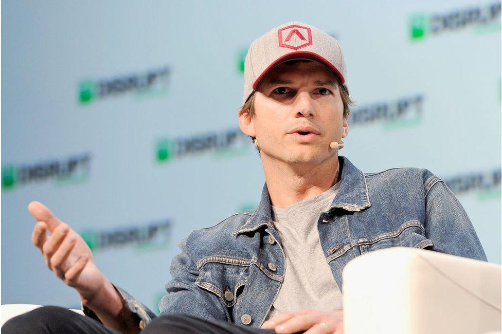 Actor Ashton Kutcher