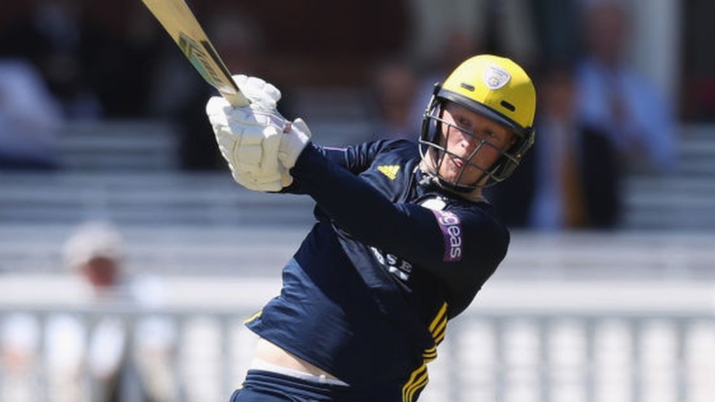 Vince & Alsop lead Hampshire to Glamorgan win