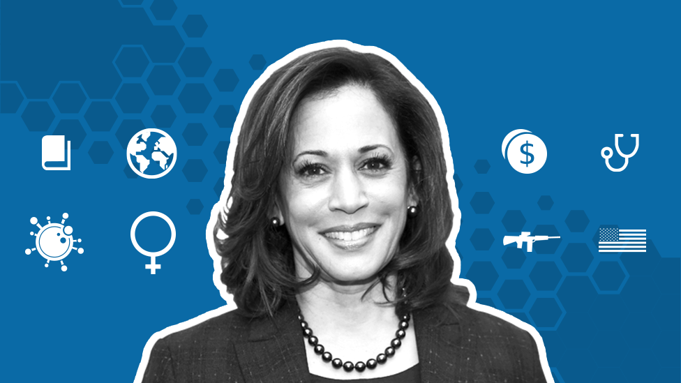 Kamala Harris Where Does She Stand On Key Issues Bbc News