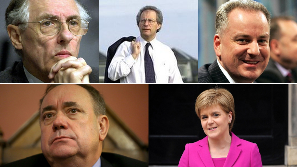 Who have been Scotland's first ministers? - BBC News
