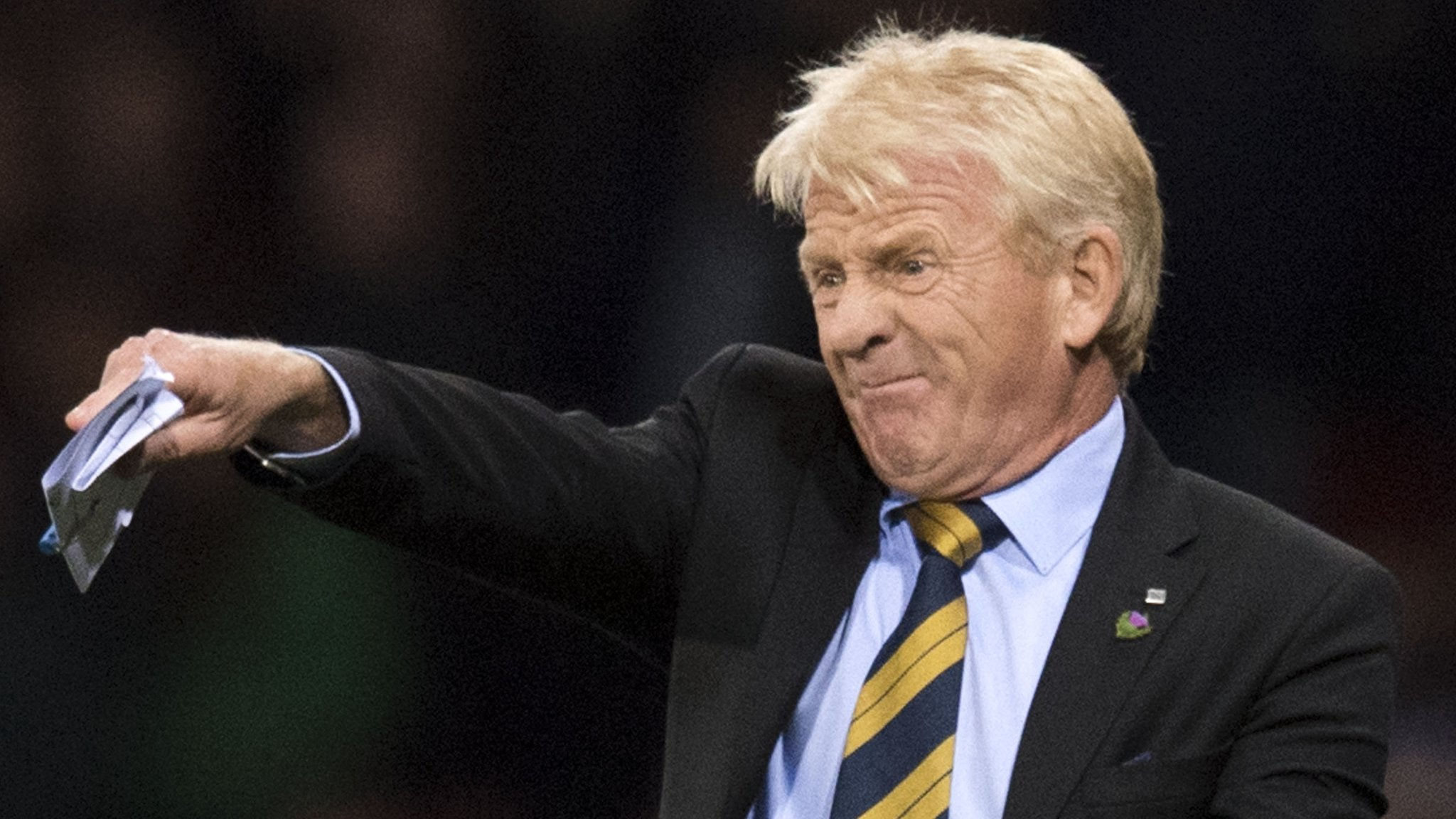 Dundee: Gordon Strachan & Jim Goodwin hold talks over Dens Park roles