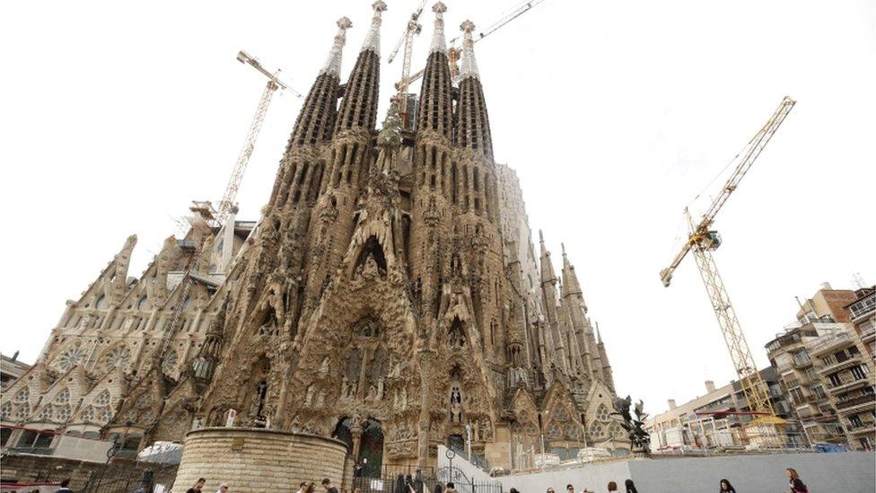 Spanyol, Catalunya, Barcelona, Sagrada Familia