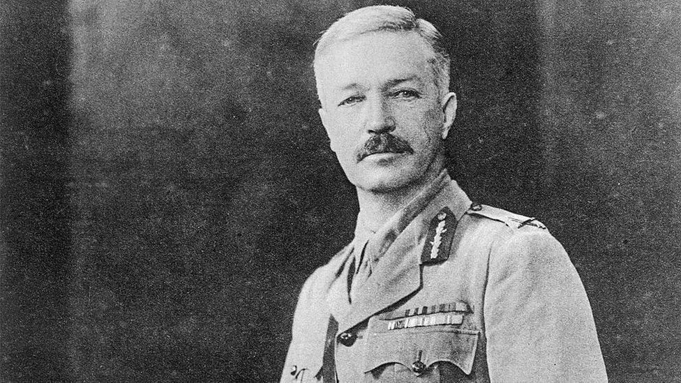 British Brigadier General R.E.H. Dyer