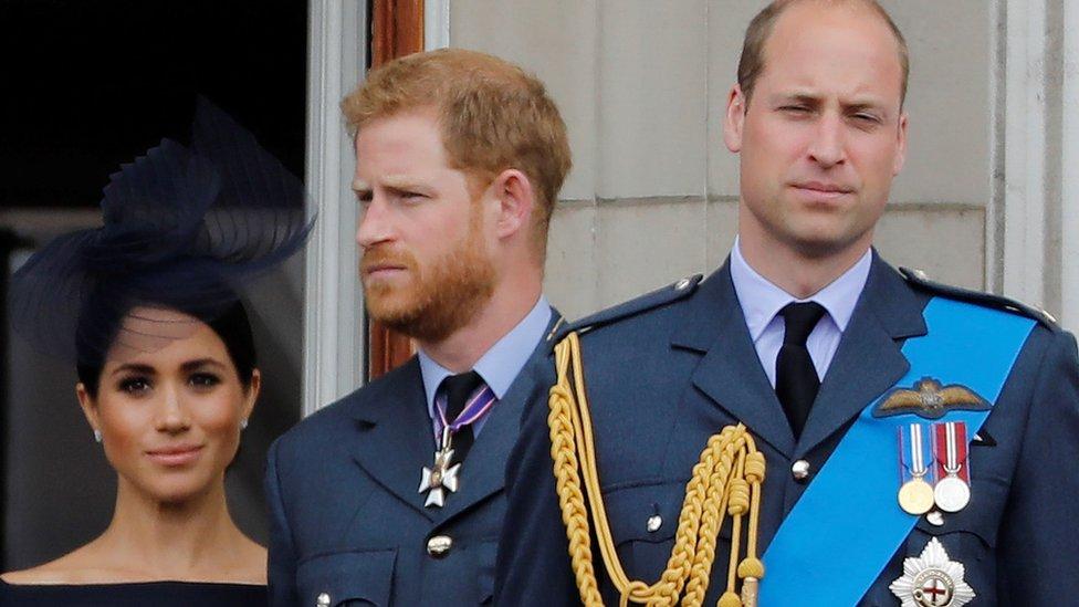 Megan iza prinčeva Harija i Vilijama