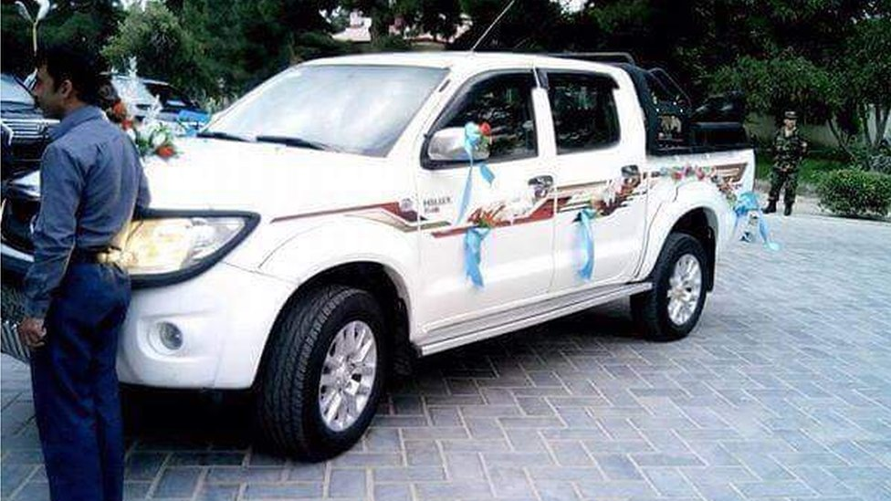 The car given to Sgt Khan