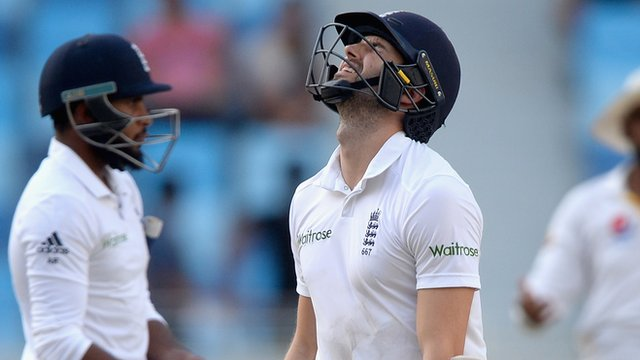 England lose second test to Pakistan