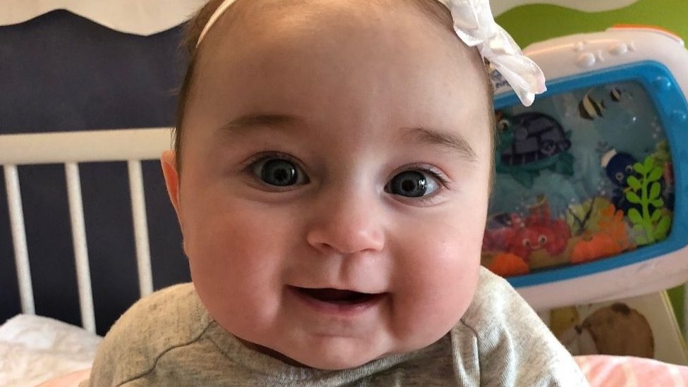 Kelsey's family is raising money to cover treatment costs for a rare condition