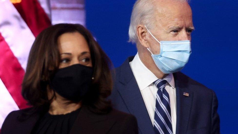 Joe Biden y Kamala Harris