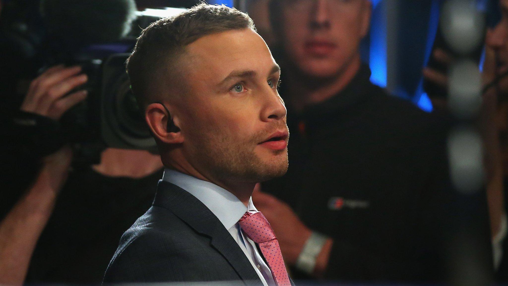 Frampton wants 'big name' in Belfast - but Warrington fight unlikely
