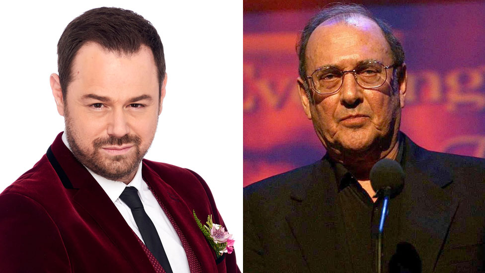 Danny Dyer and Harold Pinter