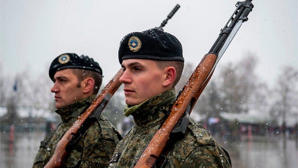 Kosovske bezbednosne snage, novembar 2017.