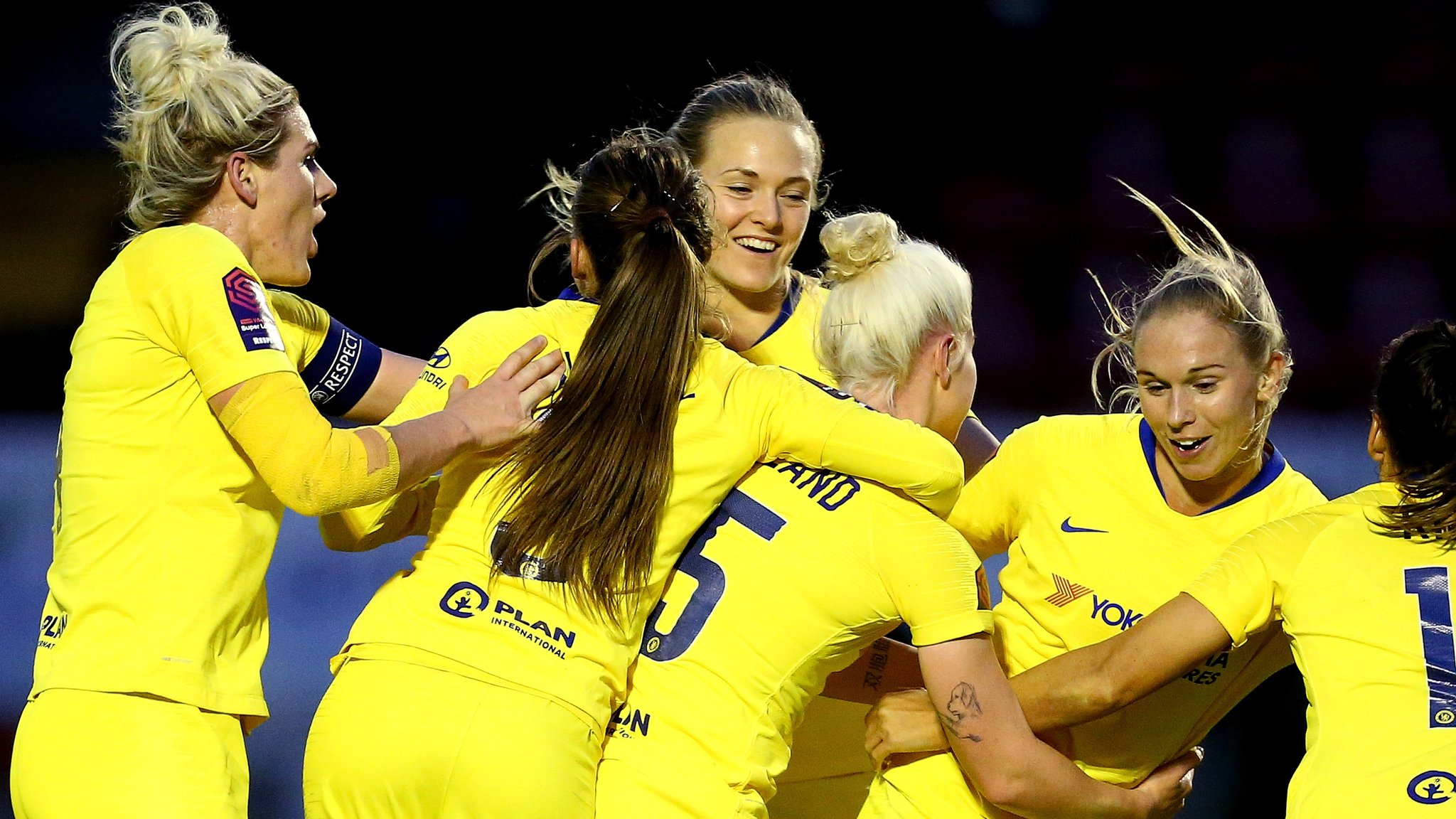 Brighton 0-4 Chelsea: Late surge ends Brighton fight in WSL