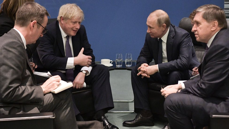 Джонсон - Путину: нормальных отношений не будет, пока не прекратится дестабилизация