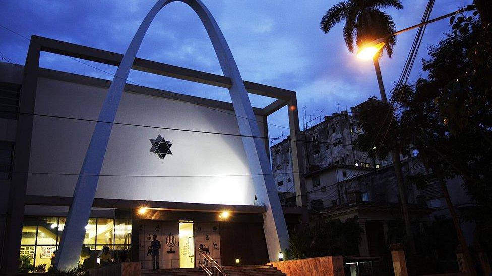 Sinagoga Bet Shalom en el Vedado, Cuba.
