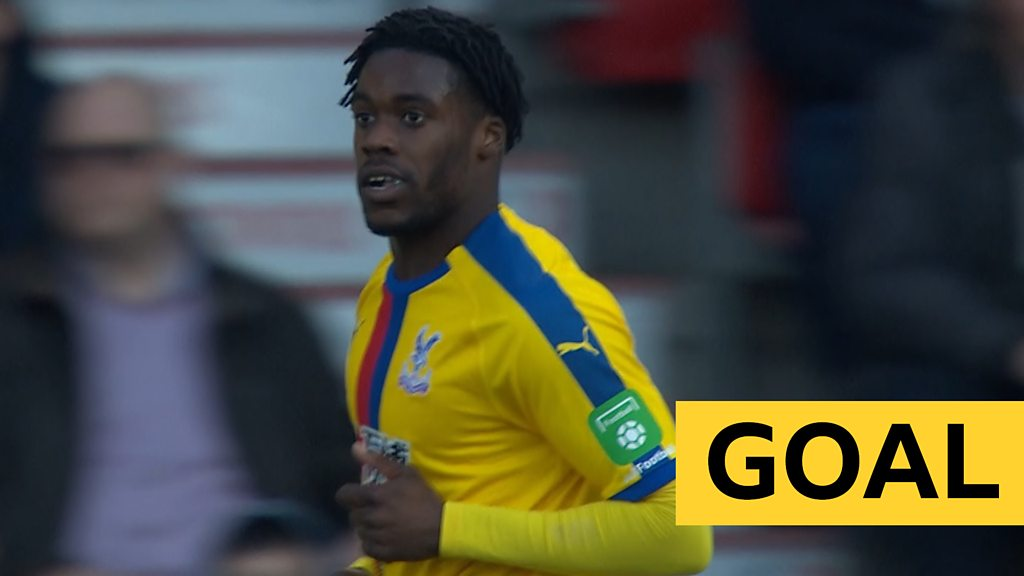 FA Cup: Crystal Palace's Jeffrey Schlupp scores opener against Doncaster