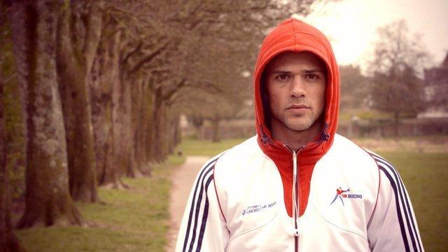 Welsh Olympic boxer Joe Cordina