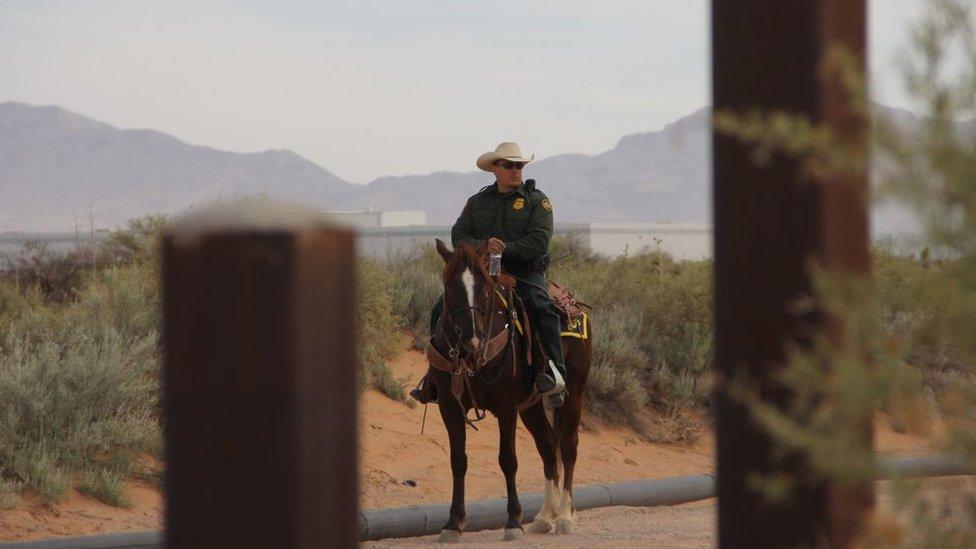 Guardia fronterizo de Estados Unidos.