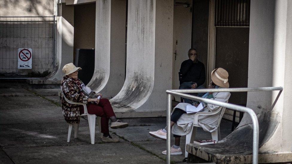دار لرعاية المسنين في بوردو في فرنسا