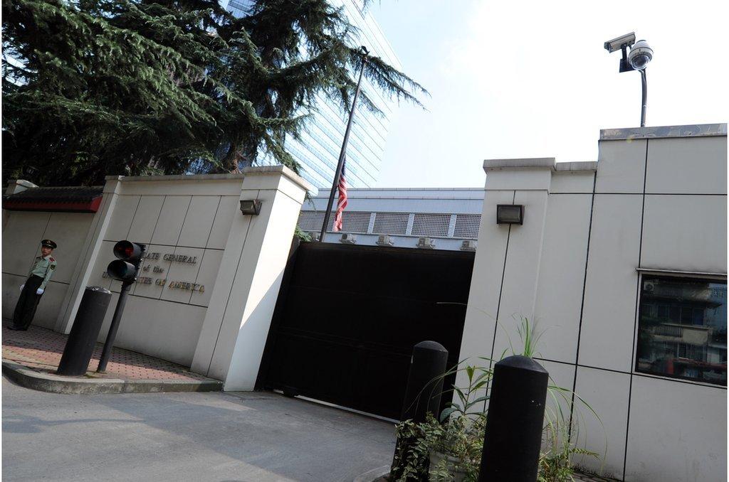 美國駐成都總領事館