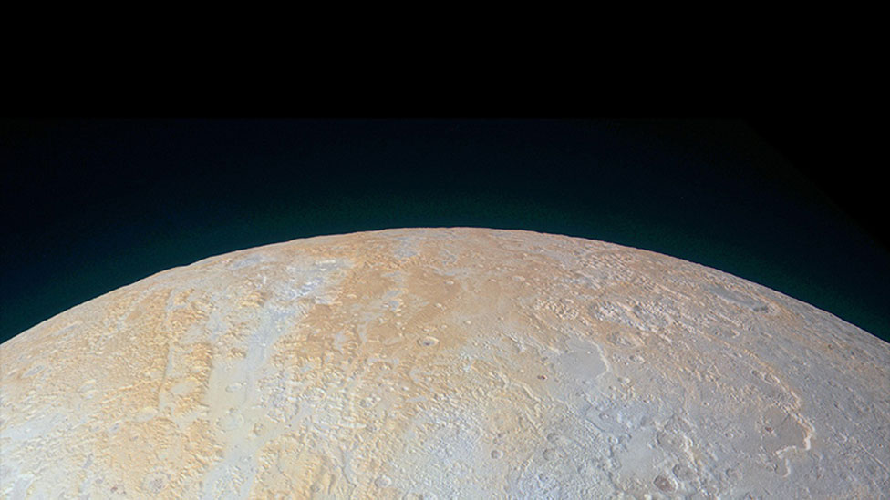 Image of Pluto uploaded by New Horizons