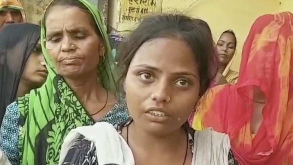 दलित परिवार पर गाड़ी चढ़ाकर मारने का आरोप, दो मरे