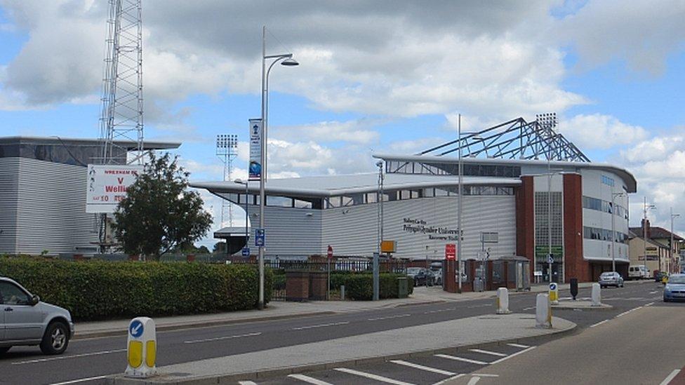 The Racecourse Ground in Wrexham