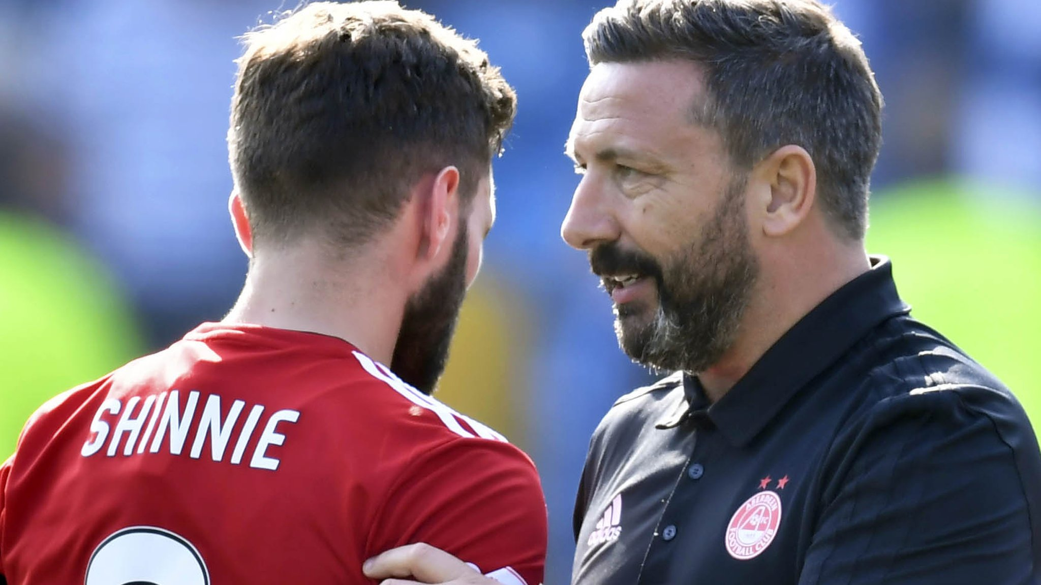 Graeme Shinnie 'extremely unlikely' to stay on at Aberdeen, admits Derek McInnes