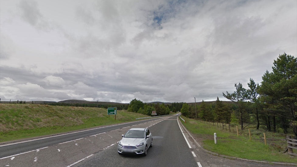 Notice given on work on A9 between Tomatin and Moy