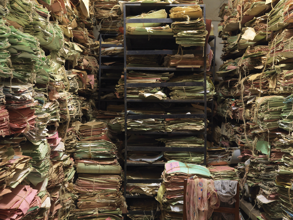 Files at a magistrate's court