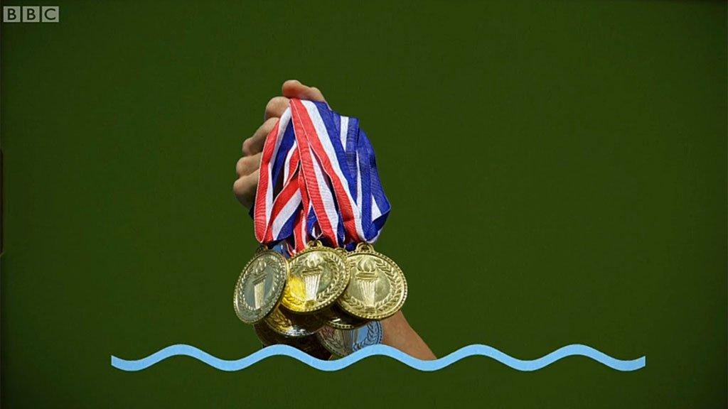 Medallas de Phelps