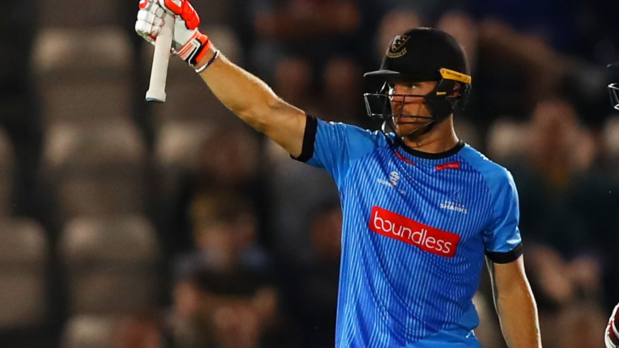 T20 Blast: Sussex maintain perfect start while Surrey make Oval record in first win
