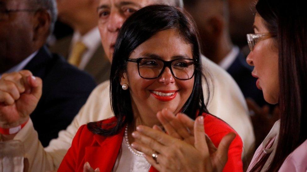 Venezuela's former foreign minister Delcy Rodriguez