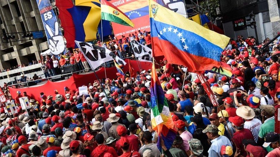 مسيرة في فنزويللا