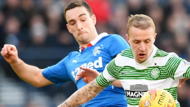 Lee Wallace and Leigh Griffiths