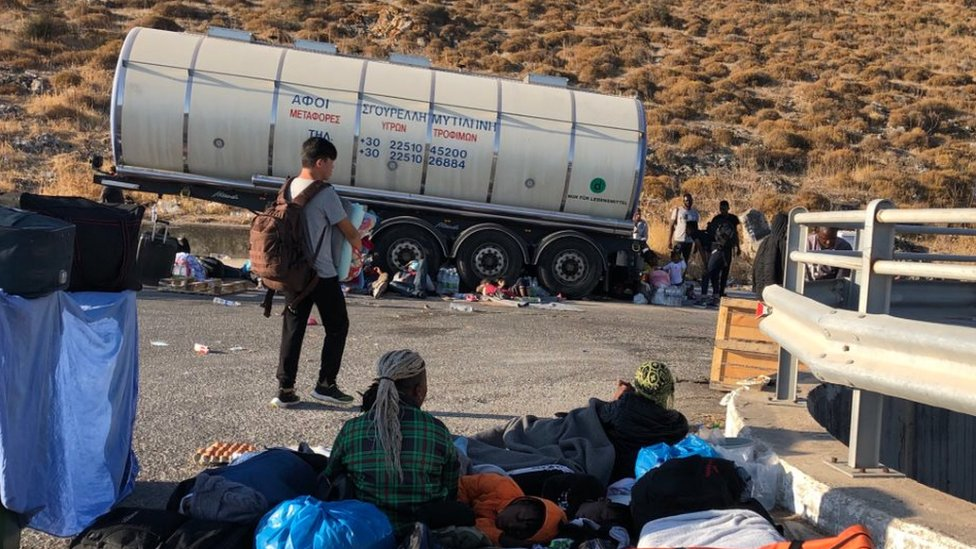 While a solution has been found for unaccompanied children, the other residents of Moria continue to wait
