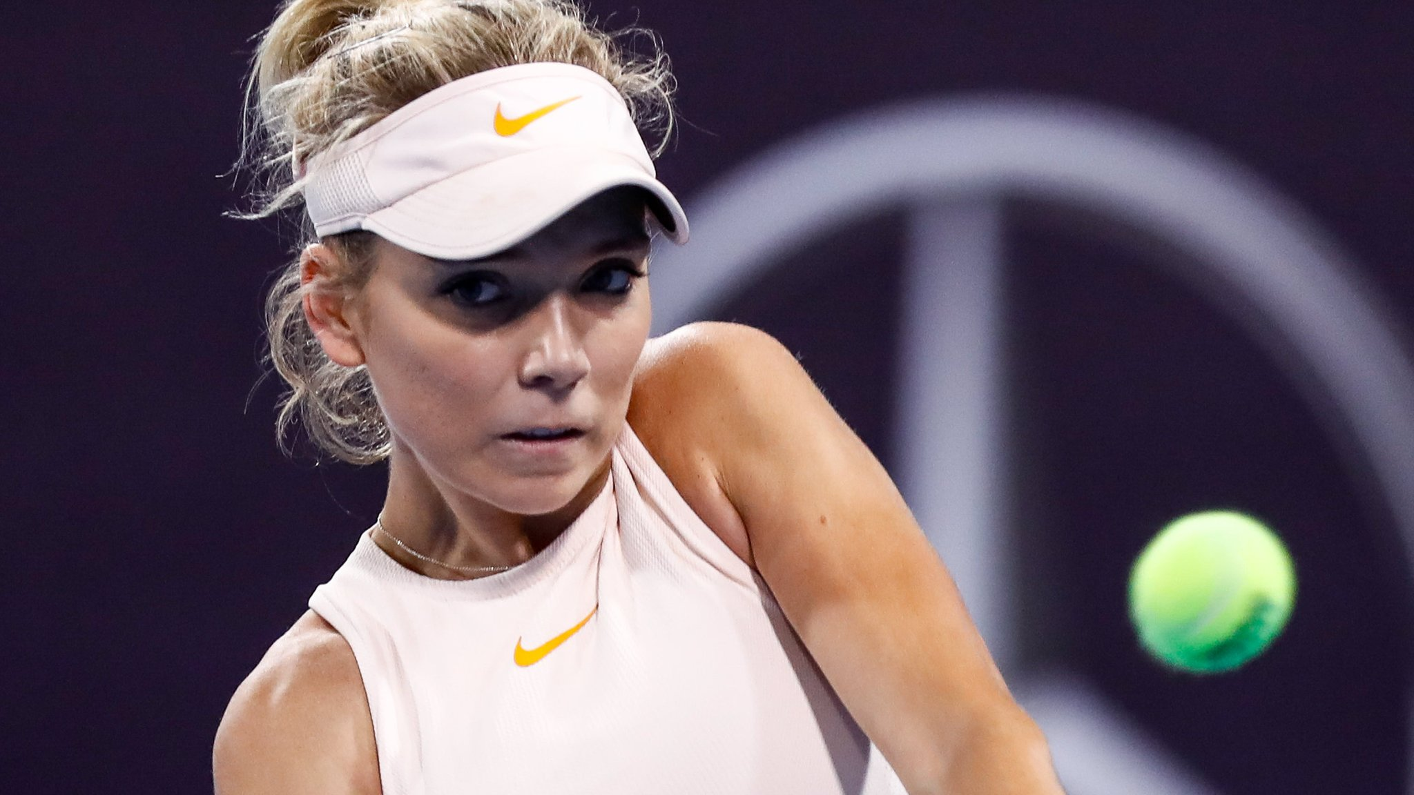 Boulter beaten by Pliskova in China but set to reach top 100