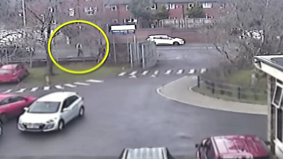 Jim Donegan: New CCTV shows gunman 'mixing with pupils'