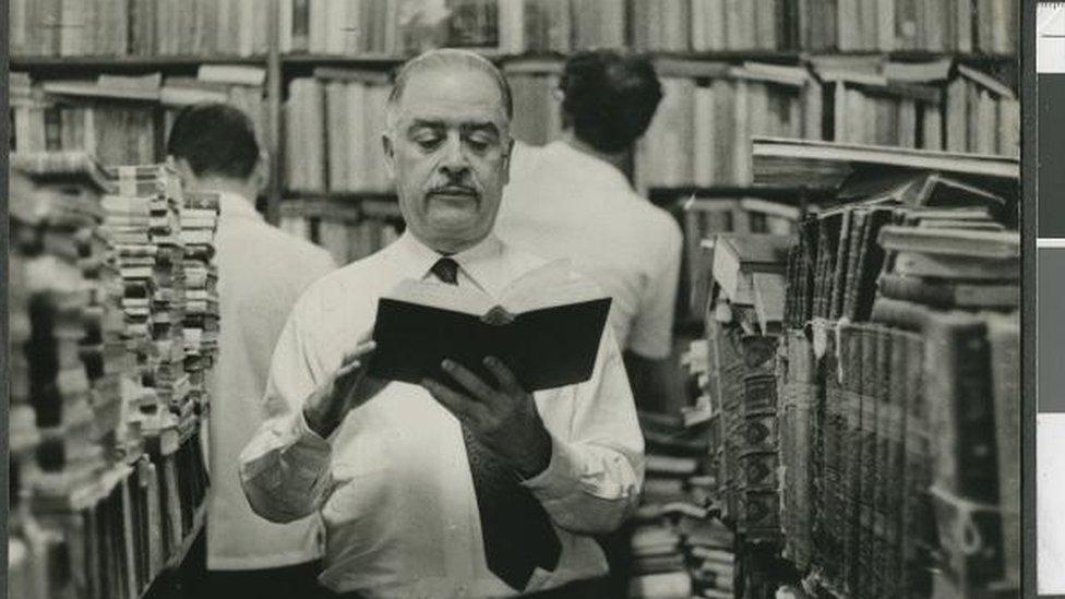 Carlos Ribeiro na livraria São José