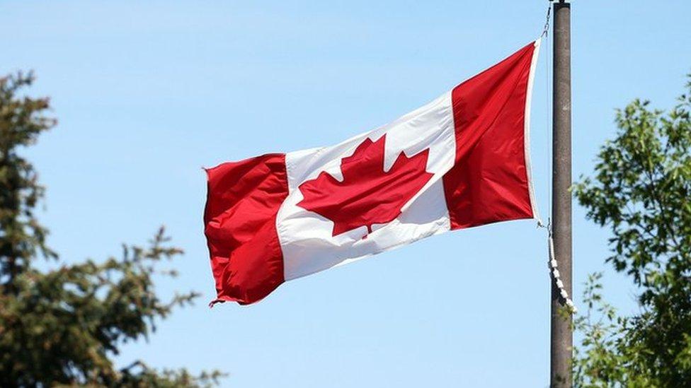 علم دولة كندا