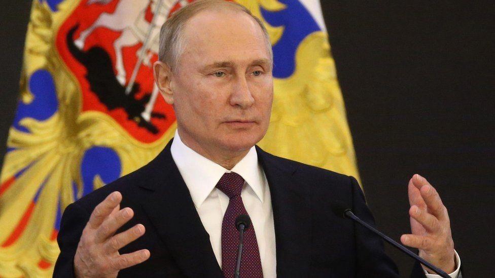 الرئيس الروسي بوتين