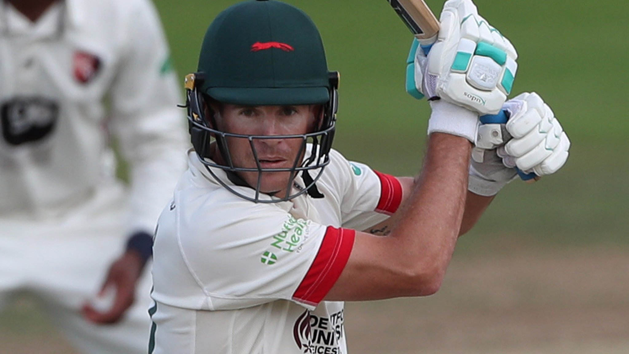 County Championship: Leicestershire battle past 300 against Durham