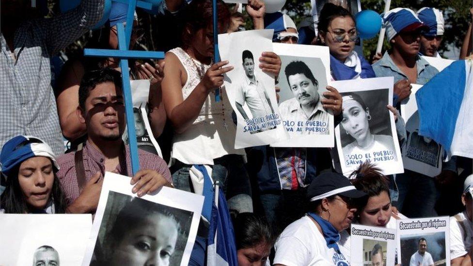 Las protestas contra el gobierno de Daniel Ortega se han mantenido desde abril.